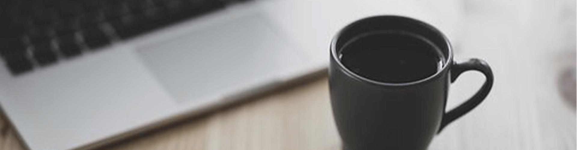 pc & coffee mug